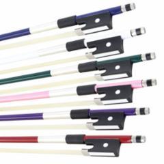 Glasser Colored Round Fiberglass Violin Bow