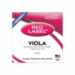 Super-Sensitive Red Label Viola Strings