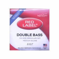Super-Sensitive Red Label Bass Strings