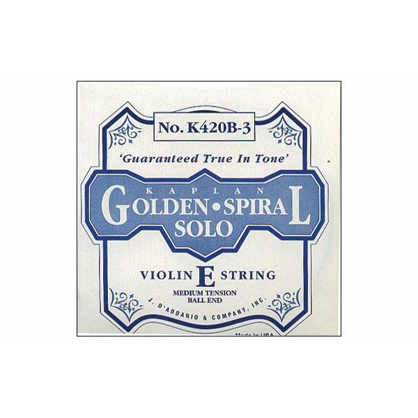 D'Addario Kaplan Golden Spiral Solo Viola Strings