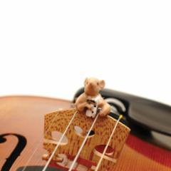 Jane Firmunn Hollander Mouse-Tro Violin Mute