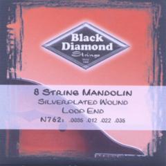 Black Diamond Silverplated Folk/Mandolin Strings