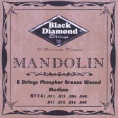 Black Diamond Phosphor Bronze Folk/Mandolin Strings