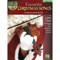 Favorite Christmas Songs Violin Play-Along