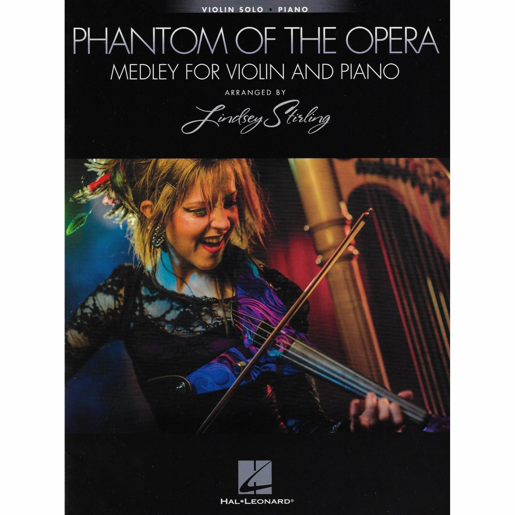 Phantom Of The Opera Medley For Violin And Piano