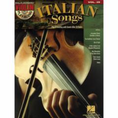 Italian Songs Violin Play-Along