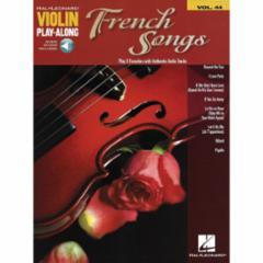 French Songs Violin Play-Along