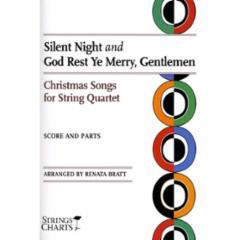 Christmas Songs for String Quartet: Silent Night and God Rest Ye Merry, Gentlemen