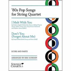 '80s Pop Songs for String Quartet