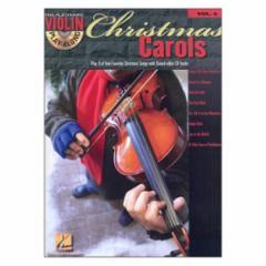 Christmas Carols Violin Play-Along Volume 5