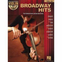 Broadway Hits Violin Play-Along