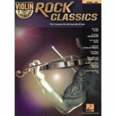 Rock Classics Violin Play-Along