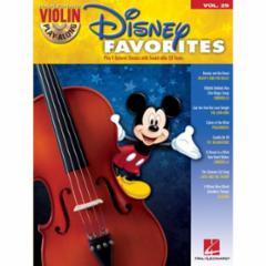 Disney Favorites Violin Play-Along