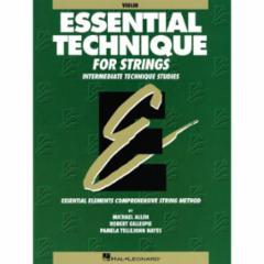 Essential Technique for Strings: Intermediate Book 3