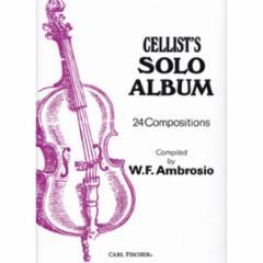 Cellist's Solo Album: 24 Compositions