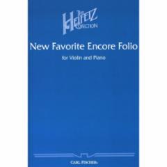 New Favorite Encore Folio for Violin and Piano