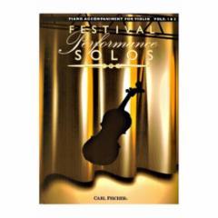 Festival Performance Solos for Violin