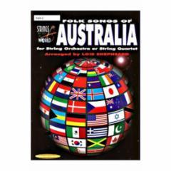 Folk Songs of Australia for String Orchestra or String Quartet
