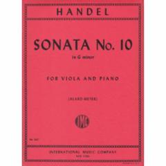 Sonata No. 10 in G Minor for Viola and Piano