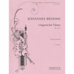 Hungarian Dances Nos. 5 and 6 (Violin)