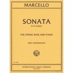 Sonata in E Minor (String Bass)