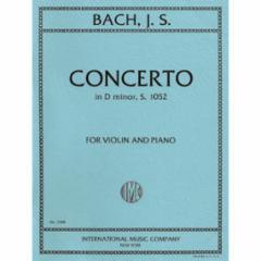 Concerto in D Minor, S. 1052 for Violin and Piano