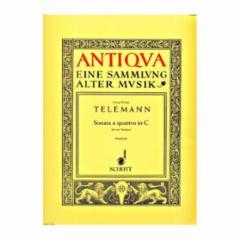 Sonata a Quattro in C for Four Violins