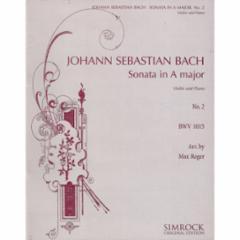 Sonata in A Major, No. 2 for Violin and Piano