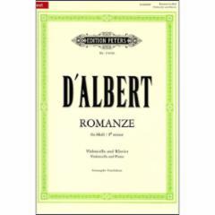 Romanze in F-Sharp Minor for Cello and Piano