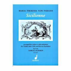 Sicilienne (Violin or Cello Part)