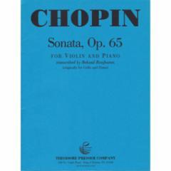 Sonata, Op. 65 for Violin and Piano