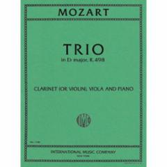 Trio in Eb Major, K.498 for Violin, Viola and Piano