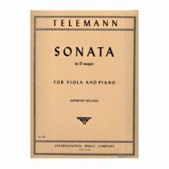 Sonata in D Major for Viola and Piano