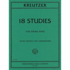18 Studies for String Bass
