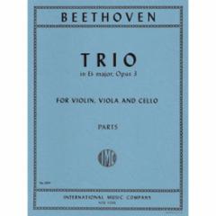 Trio in Eb Major, Op. 3 for Violin, Viola and Cello
