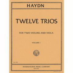 Twelve Trios for Two Violins and Viola