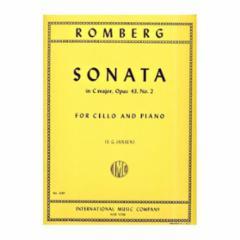 Sonata in C Major, Op. 43, No. 2 (Cello)