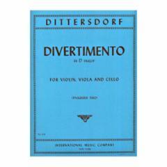 Divertimento in D Major for Violin, Viola and Cello