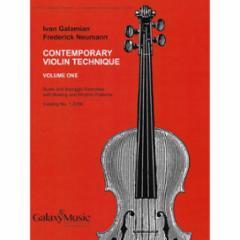 Contemporary Violin Technique (Galamian Scales for Violin)