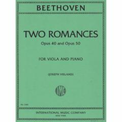 Two Romances, Opp. 40 and 50 (Viola)