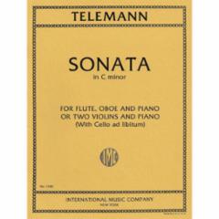 Sonata in C Minor for Two Violins and Piano (With Cello ad libitum)