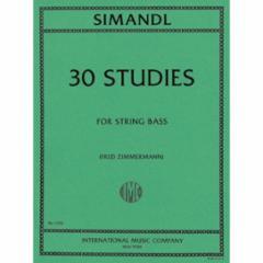 30 Studies for String Bass