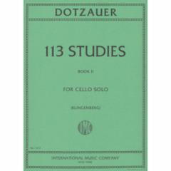 113 Studies for Cello