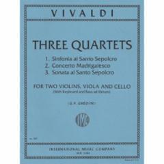Three Quartets for Two Violins, Viola and Cello