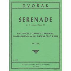 Serenade in D Minor, Op.44 for Mixed Ensemble