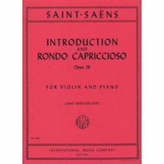 Introduction and Rondo Capriccioso, Op.28 (Violin)