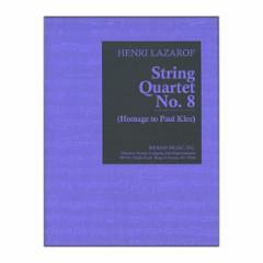 String Quartet No. 8 (Homage to Paul Klee)