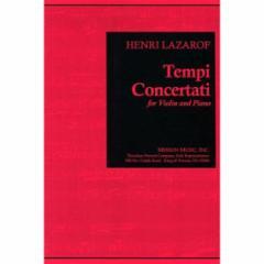 Tempi Concertati for Violin