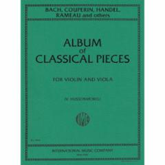Album of Classical Pieces for Violin and Viola