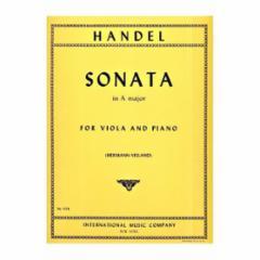 Sonata in A Major for Viola and Piano